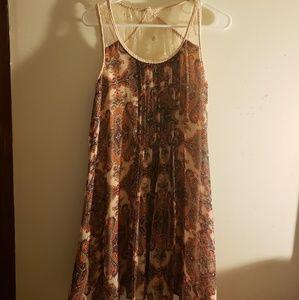 Altar'd State floral lace dress